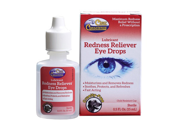 Redness reliever eye drops